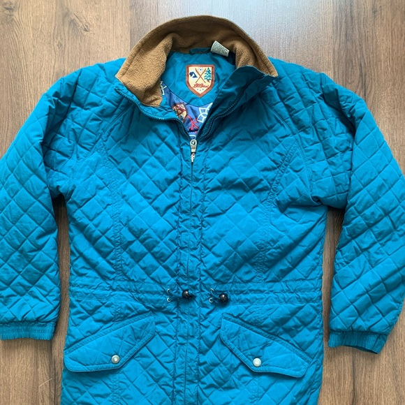 L.L. Bean Jackets & Blazers - LL Bean Quilted Jacket Small Teal